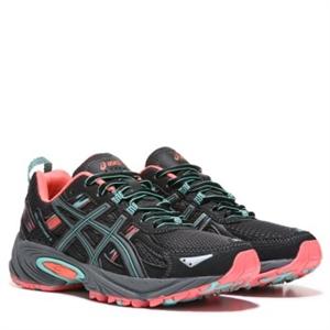 ASICS GEL-Venture 5 Trail Running Shoe Black/Mango/Teal