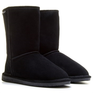 BEARPAW Emma Short Winter Boot Black