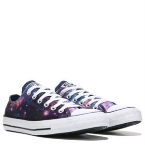 Converse Chuck Taylor All Star Print Low Top Sneaker Midnight Lake / Pink