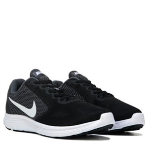 Nike Revolution 3 X-Wide Running Shoe Grey/White/Black