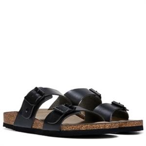 Madden Girl Brando Footbed Sandal Black