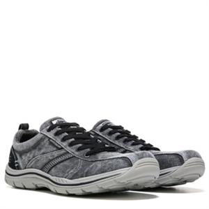 Skechers Braiden Relaxed Fit Memory Foam Sneaker Dark Gray