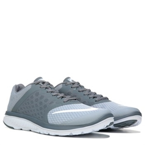 Nike FS Lite Run 3 Running Shoe Grey/White