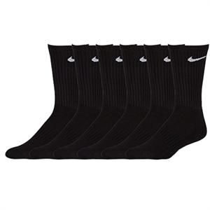 Nike 6 Pack Cotton Crew Socks