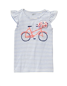 Bicycle Stripe Tee