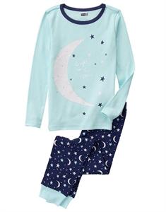 Moon 2-Piece Pajama Set