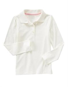 Uniform Long Sleeve Polo