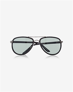 Textured Armband Aviator Sunglasses