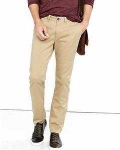 Skinny Fit Flex Stretch Light Brown Chino Pant