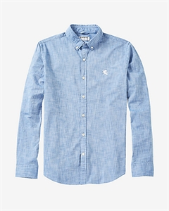 Oxford Cloth Small Lion Shirt