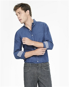 Soft Wash End-on-end Shirt