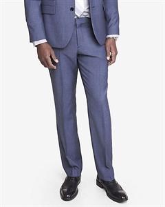 Slim Photographer Blue Wool Twill Suit Pant