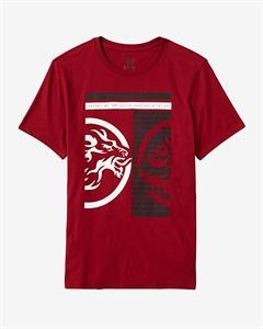 Inverse Lion Graphic T-shirt