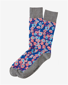 Floral Print Dress Socks