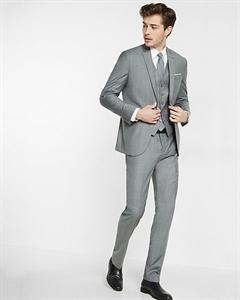 Slim Photographer Micro Twill Suit Jacket
