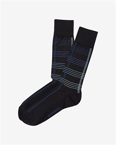 Grid Dress Socks