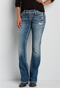Silver Jeans Co.® Suki Bootcut Jeans With Back Flap Pockets