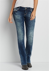 Denimflex™ Marbled Slim Boot Jeans
