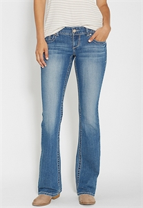 Kaylee Bootcut Jeans In Medium Wash