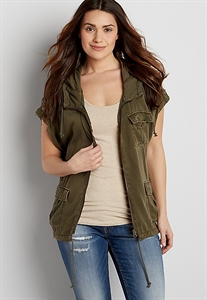 Drapey Jacket With Short Dolman Sleeves