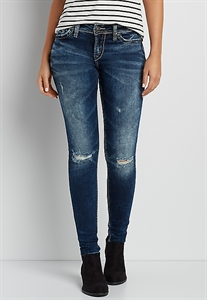 Silver Jeans Co.® Marbled Super Skinny Jeans