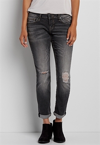 Vigoss® Tomboy Jeans In Gray Wash