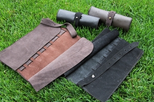 Bronxton Roll Up Leather Case
