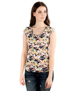 Classic Tee - Scatter Flower