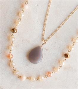 Grey Skies Necklace