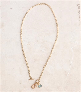 Toggle Gem Necklace
