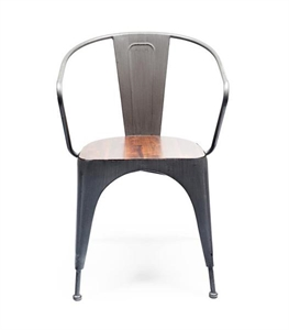 Abby Chair with Wooden Seat