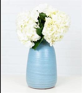 Navy Boston Medium Vase
