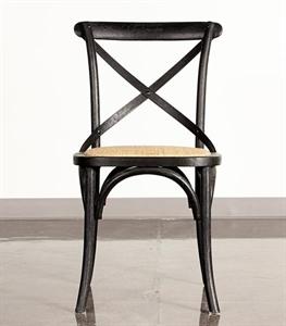 Black Dartmouth X-Back Chair