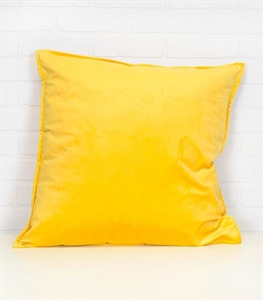Solid Velvet Decorative Pillow