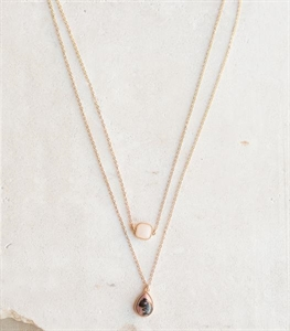 Seeing Double Necklace