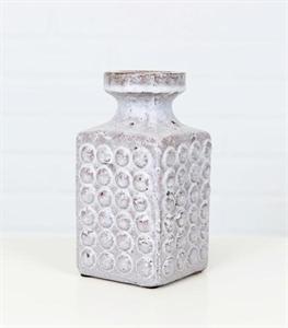 Grey Boston Ceramic Vase