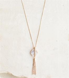 Solo Tassel Necklace