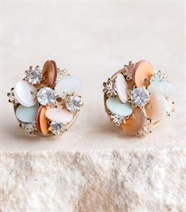 Confetti Flower Earrings
