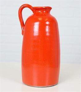 13in Red Wildwood Farm Vase