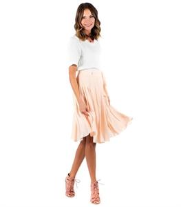 Grand View Skirt - Cream Tan