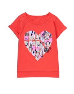 Heart Paris Tee