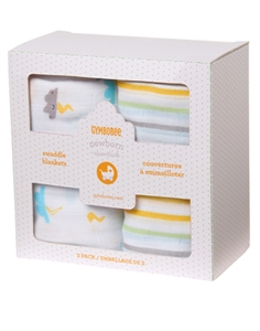 Stormy Swaddle Blankets