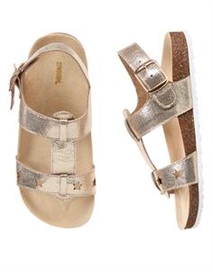 Shimmer Star Sandals