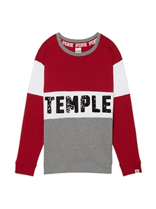 NEW! Temple University Campus Hoodie Tee
