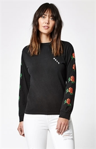 OBEY Salvage Olde Rose Long Sleeve T-Shirt