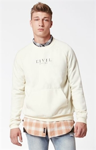 Civil Tyson Raglan Crew Neck Sweatshirt