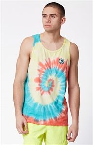 T&C Surf Designs Charybdis Tie Dye Tank Top