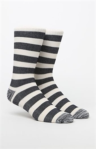 On The Byas Straight Striped Crew Socks
