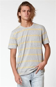 Modern Amusement Bradley Yarn Dye Striped Pocket T-Shirt