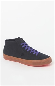 Converse Cons One Star Mid Top Pro Leather Shoes